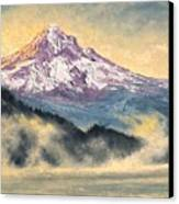 View Of Mt Hood Canvas Print