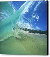 View Through Wave Canvas Print