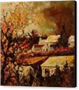 Village Curfoz Canvas Print