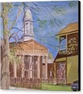 Village Hall- Montour Falls Canvas Print
