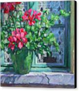 Village Welcome Giverny France Canvas Print