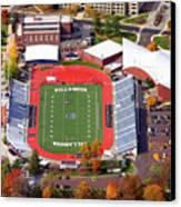 Villanova Stadium 800 East Lancaster Avenue Jake Nevin Fieldhouse Villanova Pa 19085  Canvas Print by Duncan Pearson