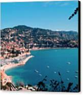 Villefranche Sur Mer Canvas Print by FCremona