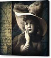 Vintage Collage 21 Canvas Print by Angelina Cornidez