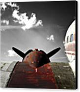 Vintage Dc-3 Aircraft  Canvas Print