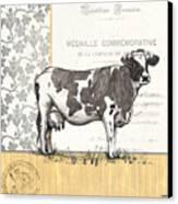 Vintage Farm 4 Canvas Print by Debbie DeWitt