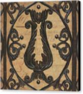 Vintage Iron Scroll Gate 2 Canvas Print by Debbie DeWitt