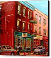 Vintage Montreal Canvas Print