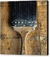 Vintage Paint Brush Canvas Print