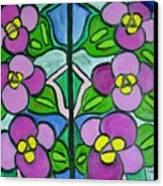 Vintage Violets Canvas Print