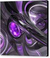Violaceous Abstract  Canvas Print