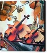 Violin Concierto Canvas Print