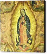 Virgen De Guadalupe Canvas Print