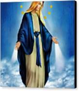 Virgen Milagrosa Canvas Print by Bibi Romer