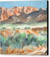 Virgin River Gorge Canvas Print
