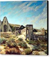 Virginia City Nevada II Canvas Print by Evelyne Boynton Grierson