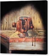 Vise Canvas Print by Bob Hallmark
