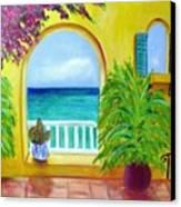 Vista Del Agua Canvas Print