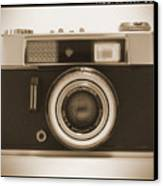 Voigtlander Rangefinder Camera Canvas Print by Mike McGlothlen