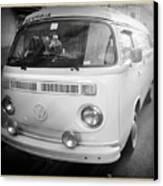 Volkswagen Westfalia Camper Canvas Print by Stefano Senise