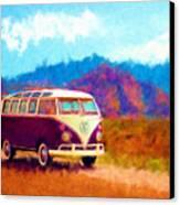 Vw Van Classic Canvas Print