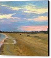 Wades Beach Sundown Study II Canvas Print