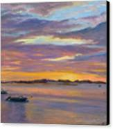 Wades Beach Sunset Canvas Print