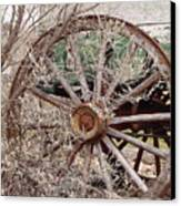 Wagon Wheel Canvas Print by Robert Frederick