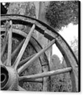 Wagon Wheels Canvas Print