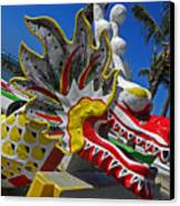 Waikiki Dragon Canvas Print by Elizabeth Hoskinson