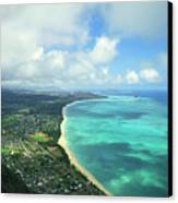 Waimanalo Bay Canvas Print