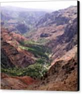 Waimea Canyon 1 Canvas Print