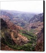 Waimea Canyon 2 Canvas Print