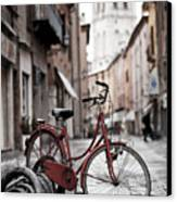 Waiting For A Ride Canvas Print by Andre Goncalves