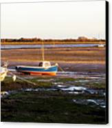 Waiting For The Tide Canvas Print by Trevor Wintle