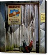 Waiting For Watson 2 Canvas Print by Doug Strickland