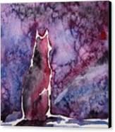 Waiting Canvas Print by Zaira Dzhaubaeva