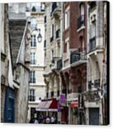 Walking The Streets Of Paris Canvas Print