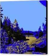 Wanapitae River Morning Canvas Print