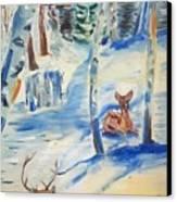 Wanaque Winter Nj Canvas Print