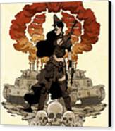 War Maiden Canvas Print by Brian Kesinger