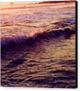 Warm Sunset In Zipolite 3 Canvas Print