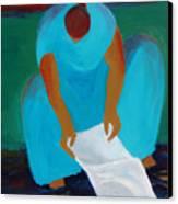 Wash Day 2 Canvas Print by Renee Kahn