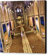 Washington National Cathedral Iv Canvas Print