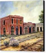 Washoe City Nevada Canvas Print by Evelyne Boynton Grierson