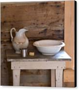 Washstand Canvas Print
