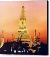 Wat  Aroon Canvas Print