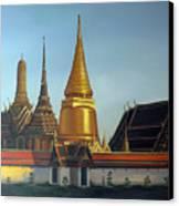 Wat Pra Keaw Canvas Print