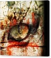 Watcher Canvas Print by Ken Walker
