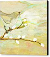 Watching The Clouds No 3 Canvas Print by Jennifer Lommers